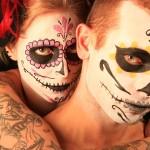 maquillage skull