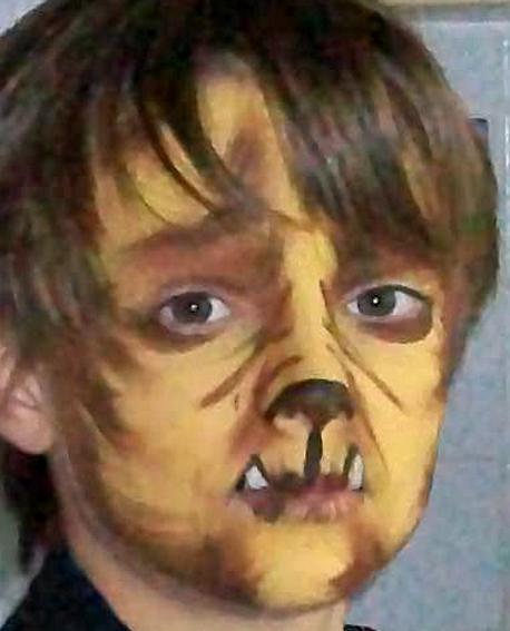 Maquillage loup garou - Maquillage loup facile ...