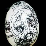 "oeuf ""Zentangle"""