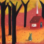 le cerf et le lapin