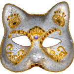 masque chat de Venise