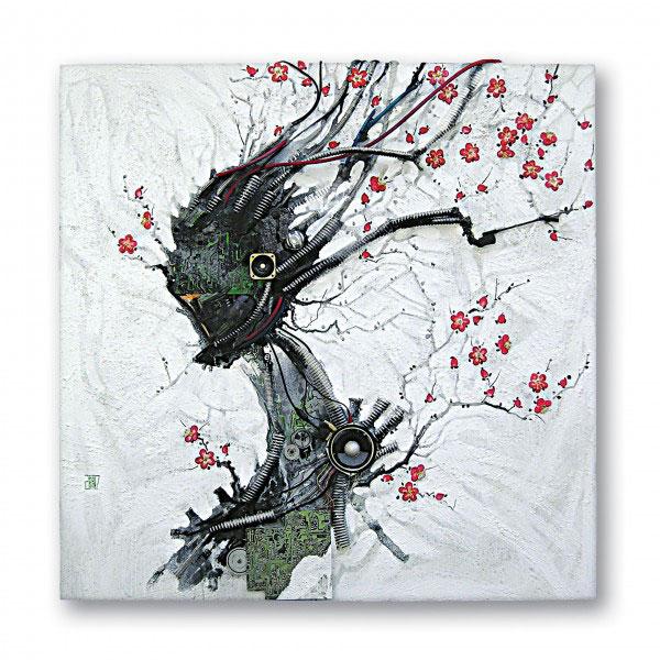 Artiste Electronico Japonais Sandrine Lacroix Slharley