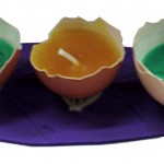 bougies oeufs