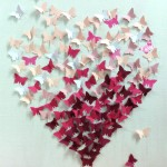 coeur en papillon