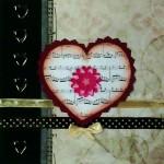 carte coeur mélodieux