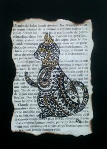 chat de scribe