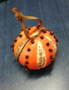 mandarine de noël